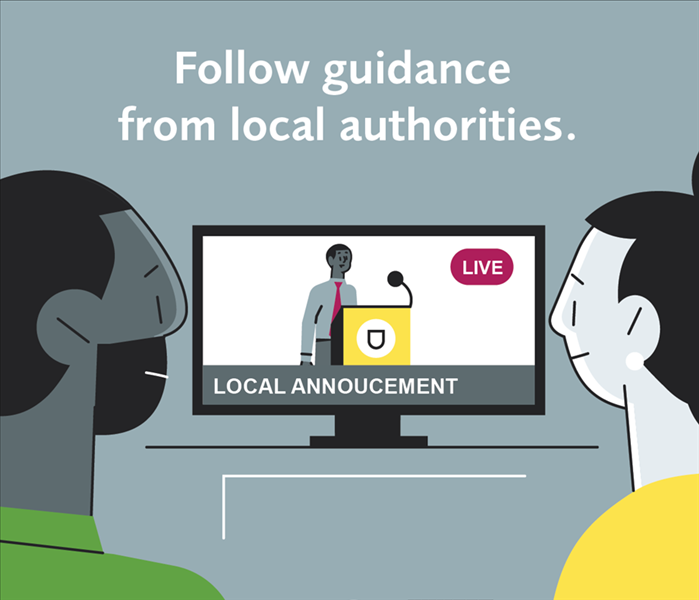 Follow Guidance From Local Authorities